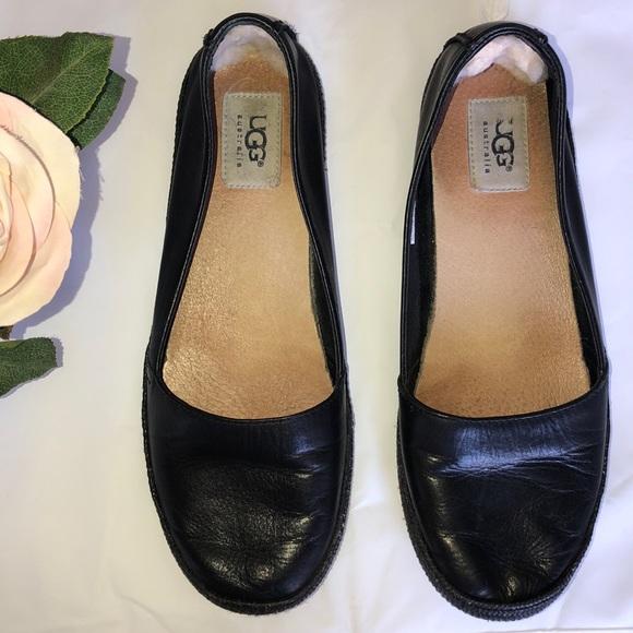 UGG Shoes - Leather Uggs.💓